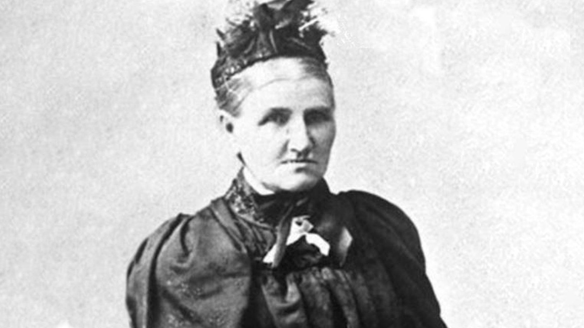 Suffragist Elizabeth Caradus