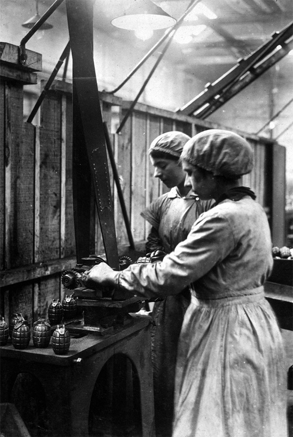 Women in Munitions during the First World War